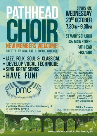 Pathhead Choir Poster